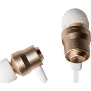 Azuri handenvrij stereo hoofdtelefoon - premium - 3.5 mm - universeel - goud