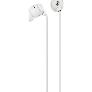 Azuri handenvrij stereo hoofdtelefoon - wit - 3.5 mm - universeel - BULK
