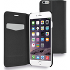 Azuri booklet ultra thin - zwart - voor Apple iPhone 6/6S - 4.7