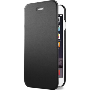 Azuri booklet ultra thin - zwart - voor Apple iPhone 6/6S - 4.7