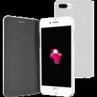 Azuri voor  iPhone 7 Plus /8 Plus - booklet ultra thin - wit