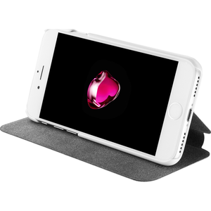 Azuri voor  iPhone 7/8 - booklet ultra thin - wit