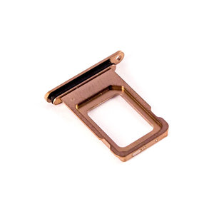 A-pple iPhone XS Max card tray Goud