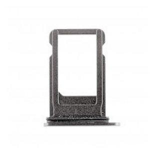 A-pple iPhone XS Max  simkaart houder Zwart