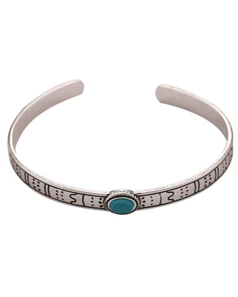 Fashion-Click Armband Ethnic Stone