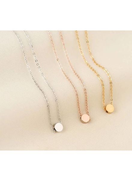 Fashion-Click Ketting Basic  Round