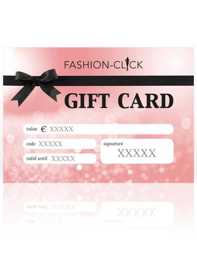 Fashion-Click gift card €75,-