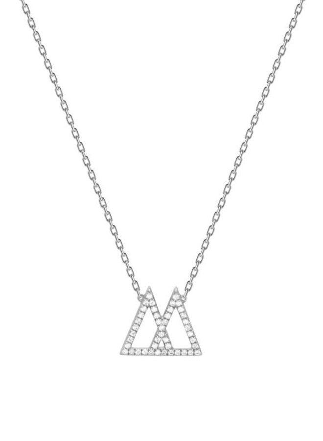 P D Paola Ketting Bright Zilver