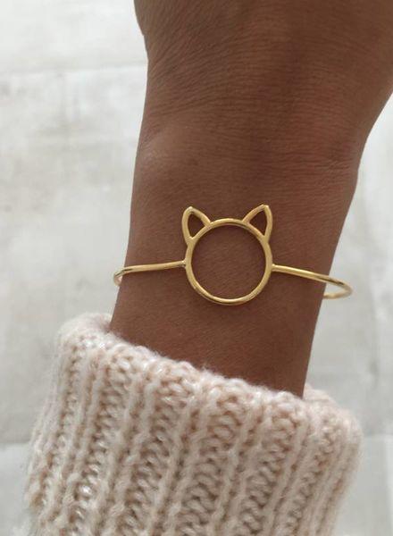 Fashion-Click Armband Miauw