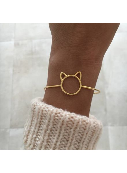 Fashion-Click Armband Miauw