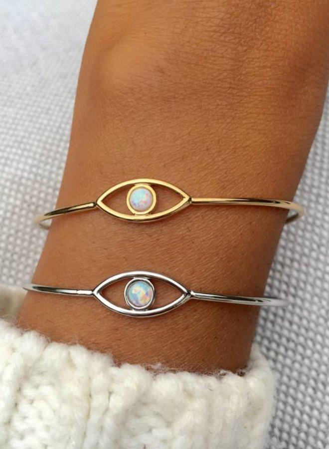 Armband White Eye