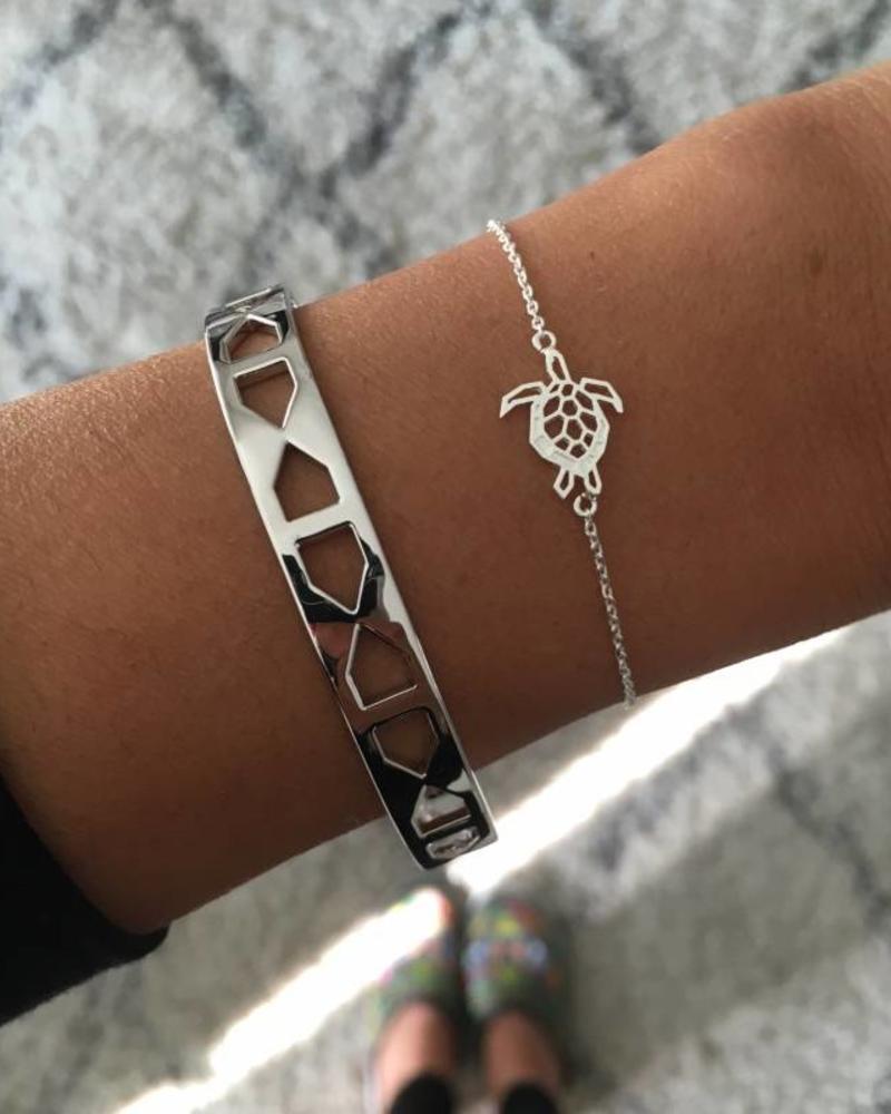 Fashion-Click Armband Turtle