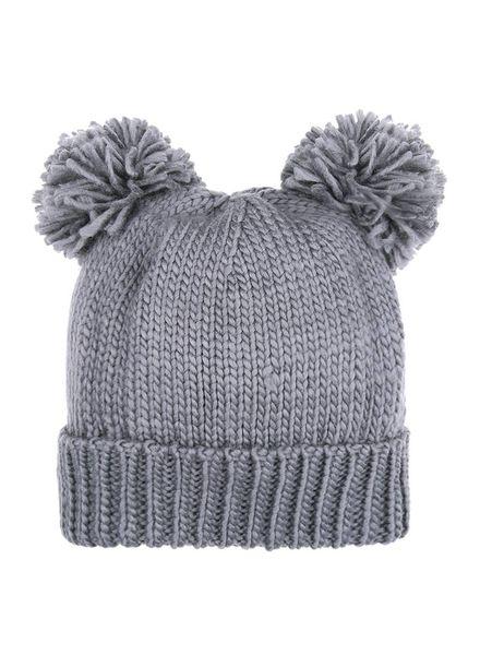 Fashion-Click Beanie Bear Grey