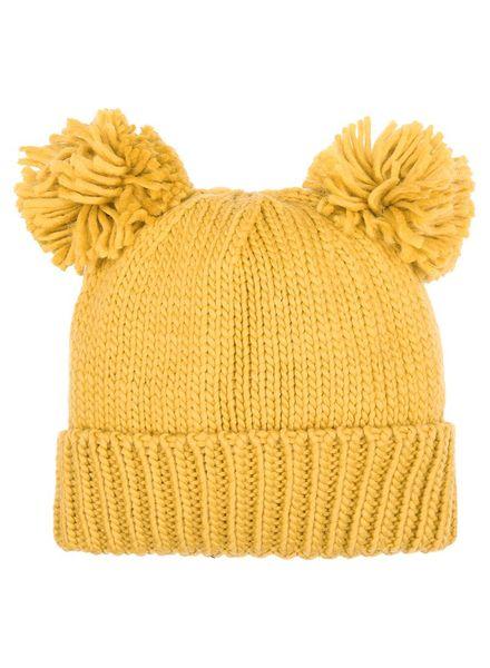 Fashion-Click Beanie Bear Yellow