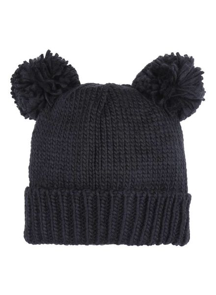 Fashion-Click Beanie Bear Black