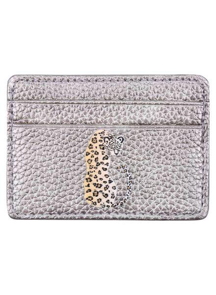 Fashion-Click Pasjeshouder Silver Leopard