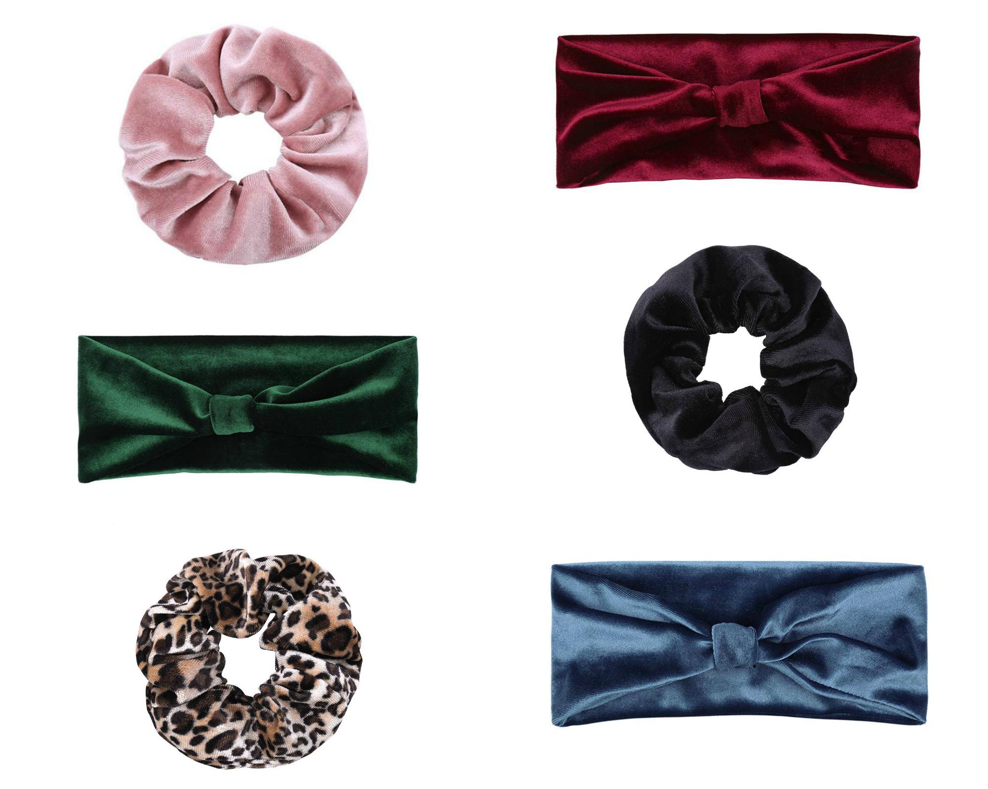 velvet scrunchies en haarbanden shop online