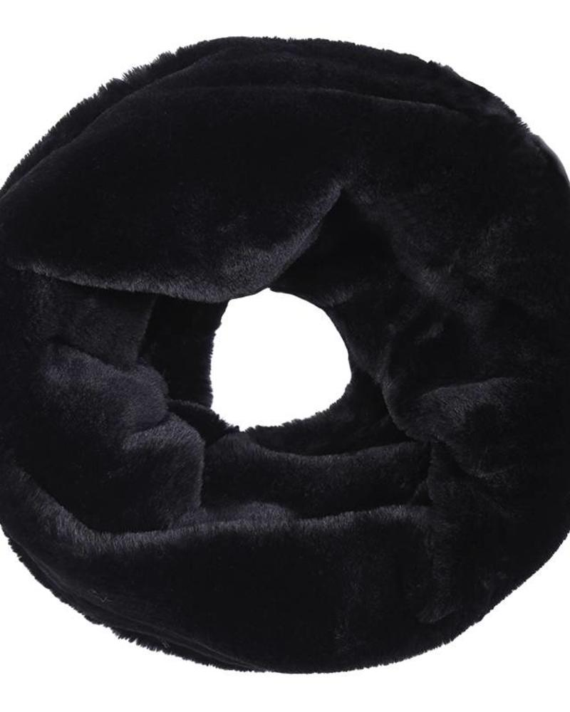 Fashion-Click Col Sjaal Furry Black