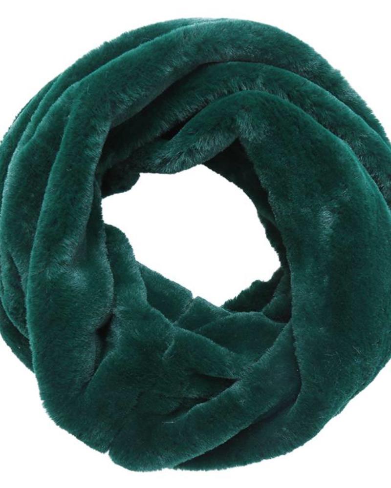 Fashion-Click Col Sjaal Furry Green