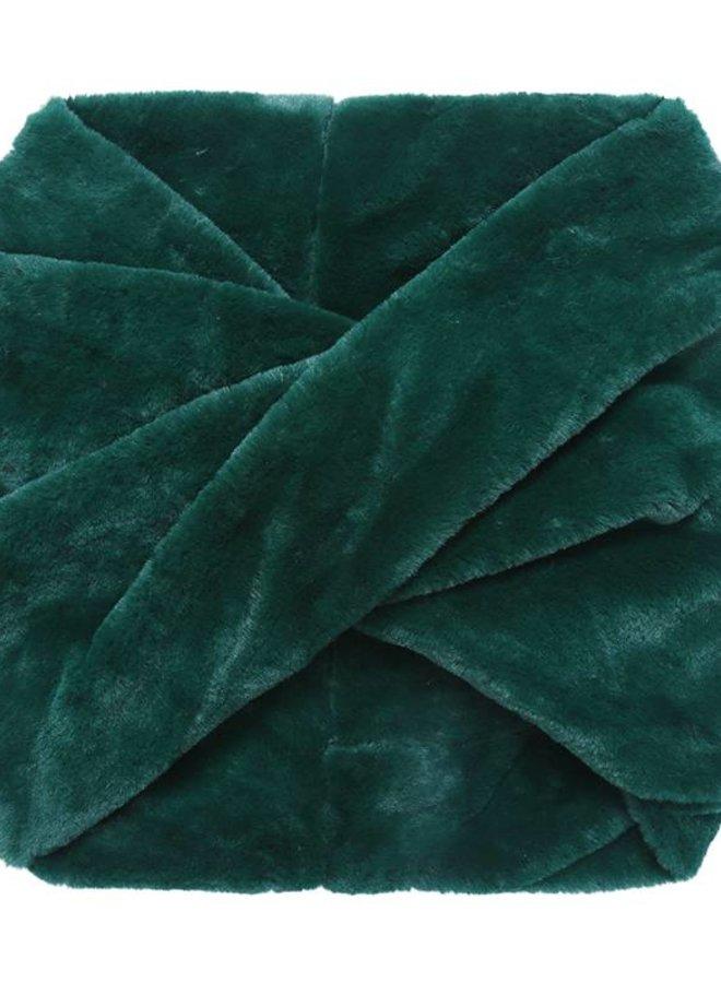 Col Sjaal Furry Green