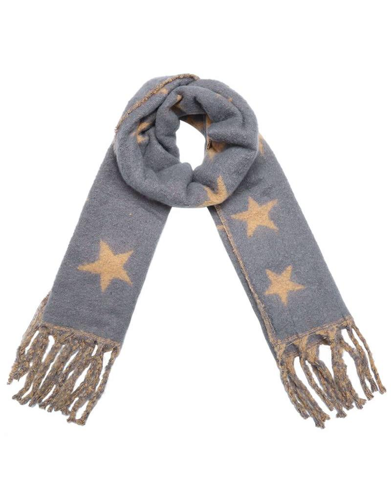 Fashion-Click Sjaal Starly Grey