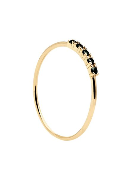 P D Paola P D Paola Ring Black Misty