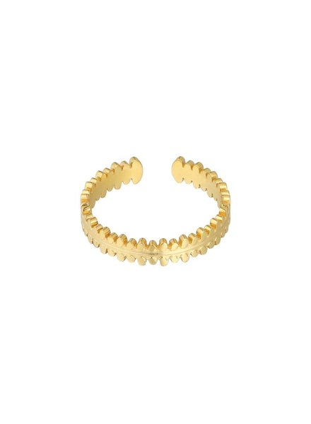 Fashion-Click Ring Daily Basic