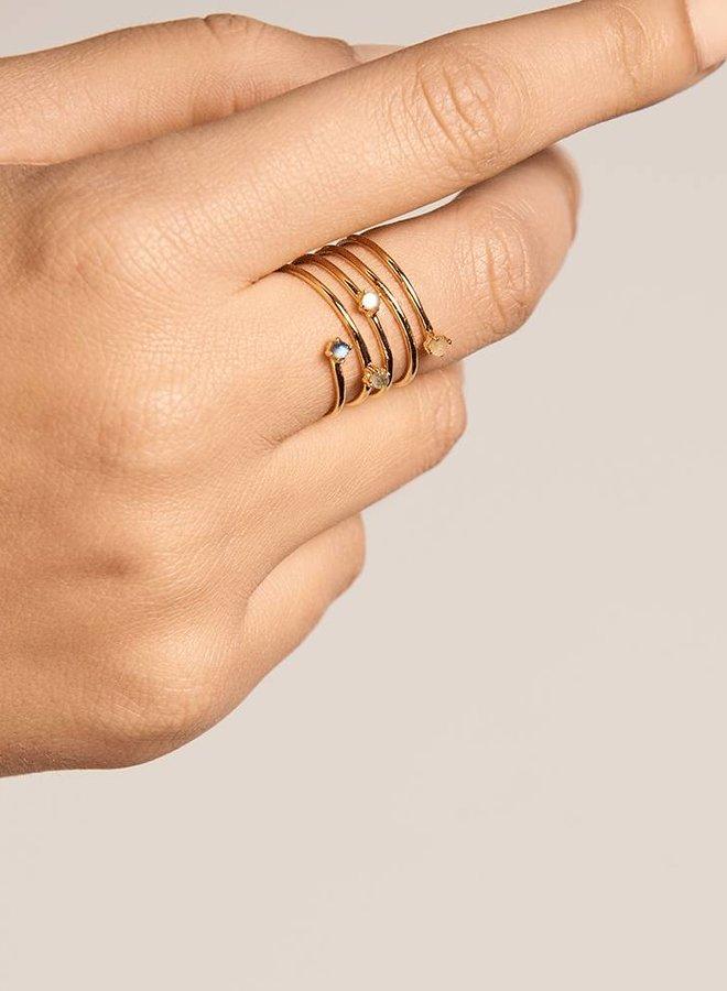 P D Paola Ring Ultramarine