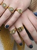 Fashion-Click Signet Ring Mermaid Vibes