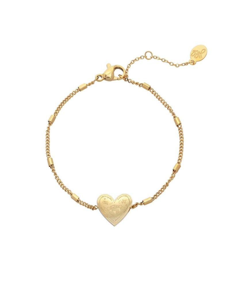 Fashion-Click Armband Heart Traveler