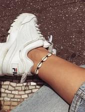 Fashion-Click Enkelbandje All Shells