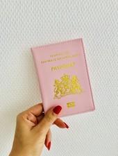 Fashion-Click Paspoorthoesje Pink