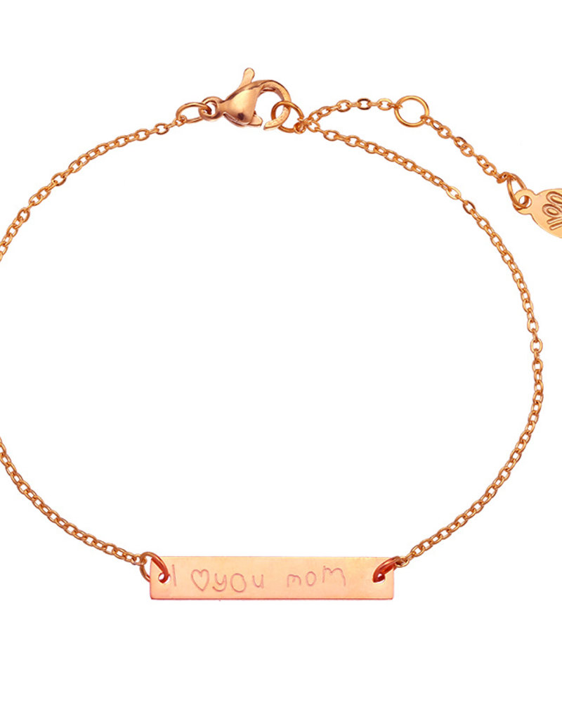 Fashion-Click Armband I Love You Mom