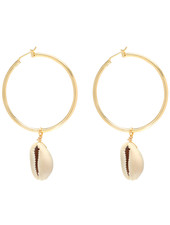 Fashion-Click Oorbellen Hoops & Shell