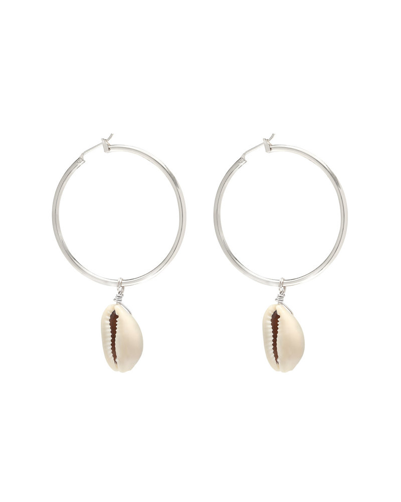 Fashion-Click Oorbellen Hoops & Shell