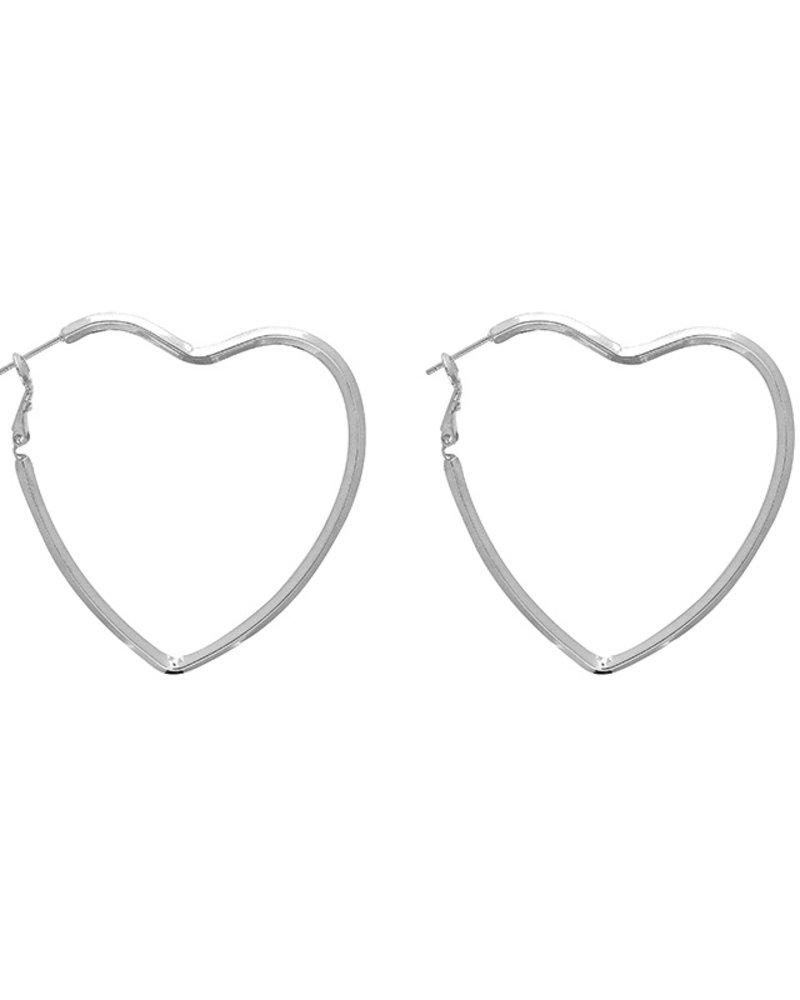 Fashion-Click Oorbellen Love Hearts