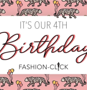 Birthday giveaway: Fashion-Click is jarig!