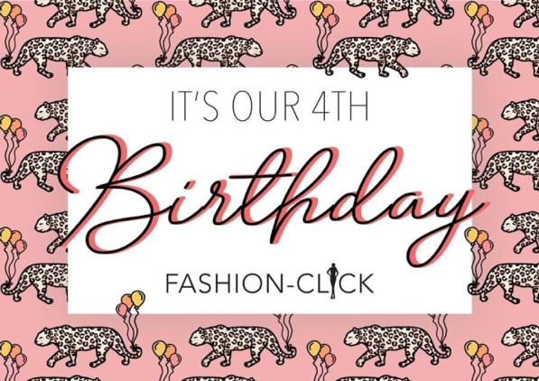 Birthday giveaway: Fashion-Click is jarig!