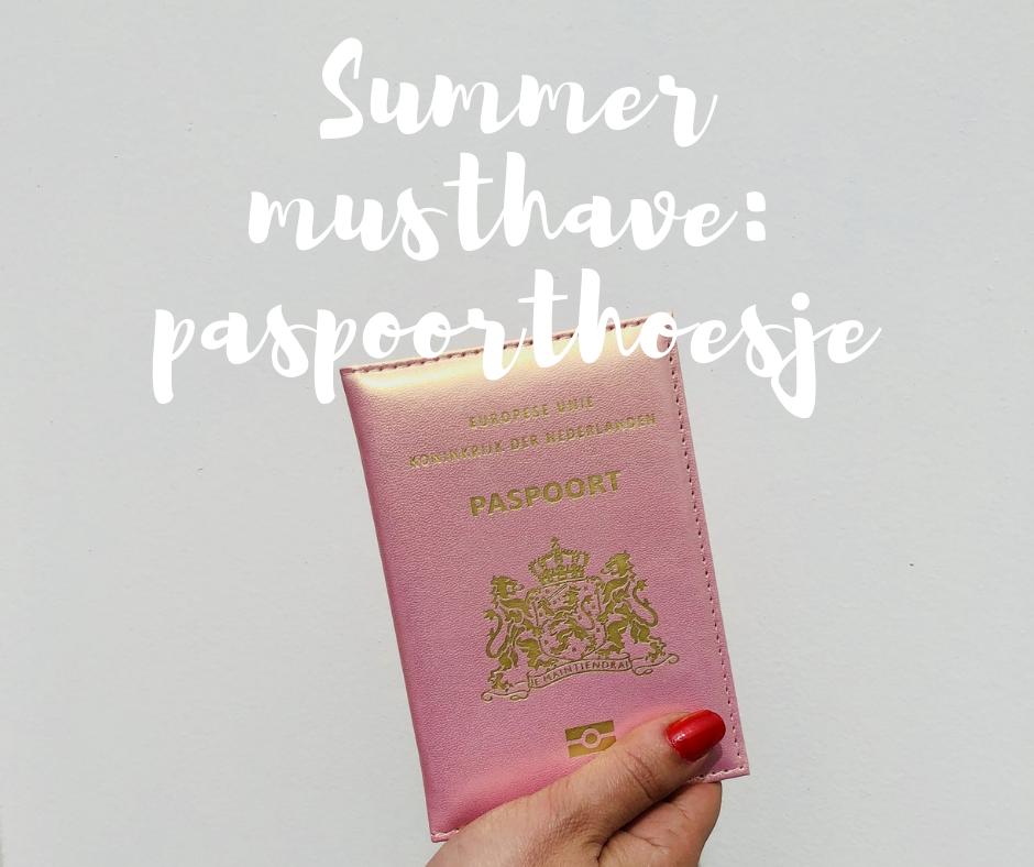 Dit is waarom je deze zomer een paspoorthoesje nodig hebt