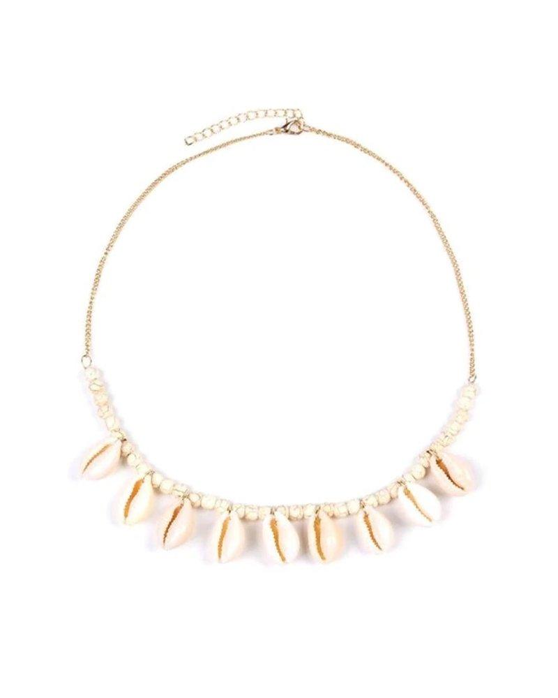 Fashion-Click Ketting Shells & Beads