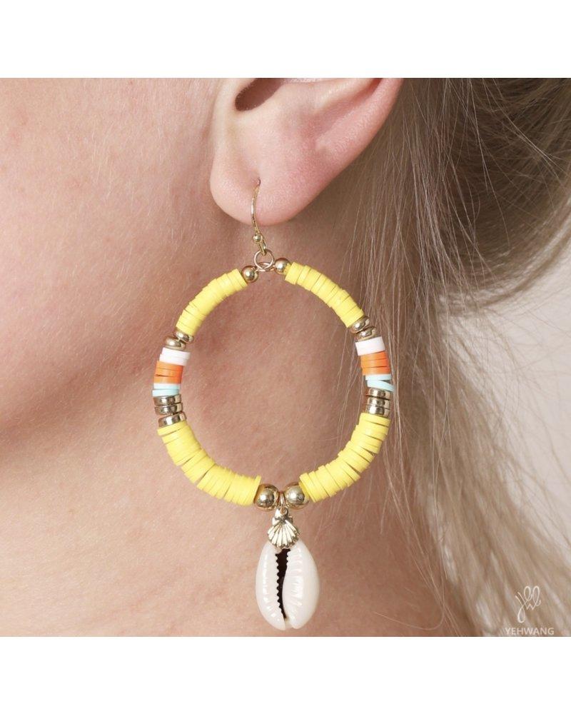 Fashion-Click Oorbellen Summer Shell