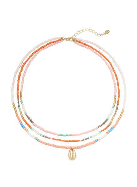 Fashion-Click Ketting Beach Beads