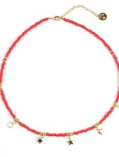 Fashion-Click Ketting Festival Beads & Stars