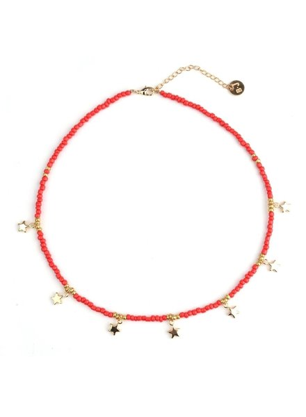 Fashion-Click Ketting Festival Beads & Stars