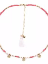 Fashion-Click Ketting Beads & Coins Ipanema