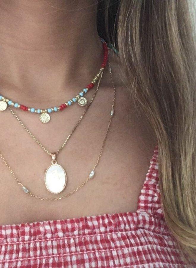 Ketting Beads & Coins Bogota