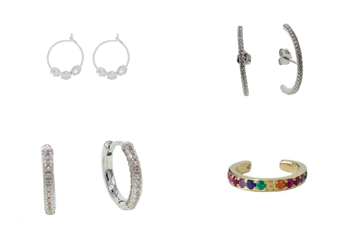 meerdere oorringetjes shop nu fashion-click
