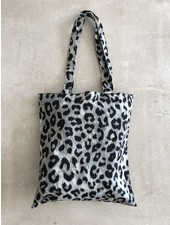 Fashion-Click Canvas Tas Autumn Leopard