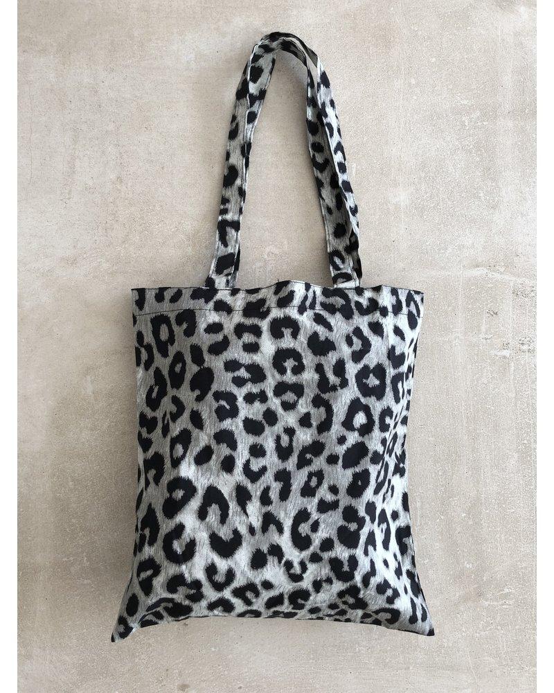Fashion-Click Canvas Tas Autumn Leopard