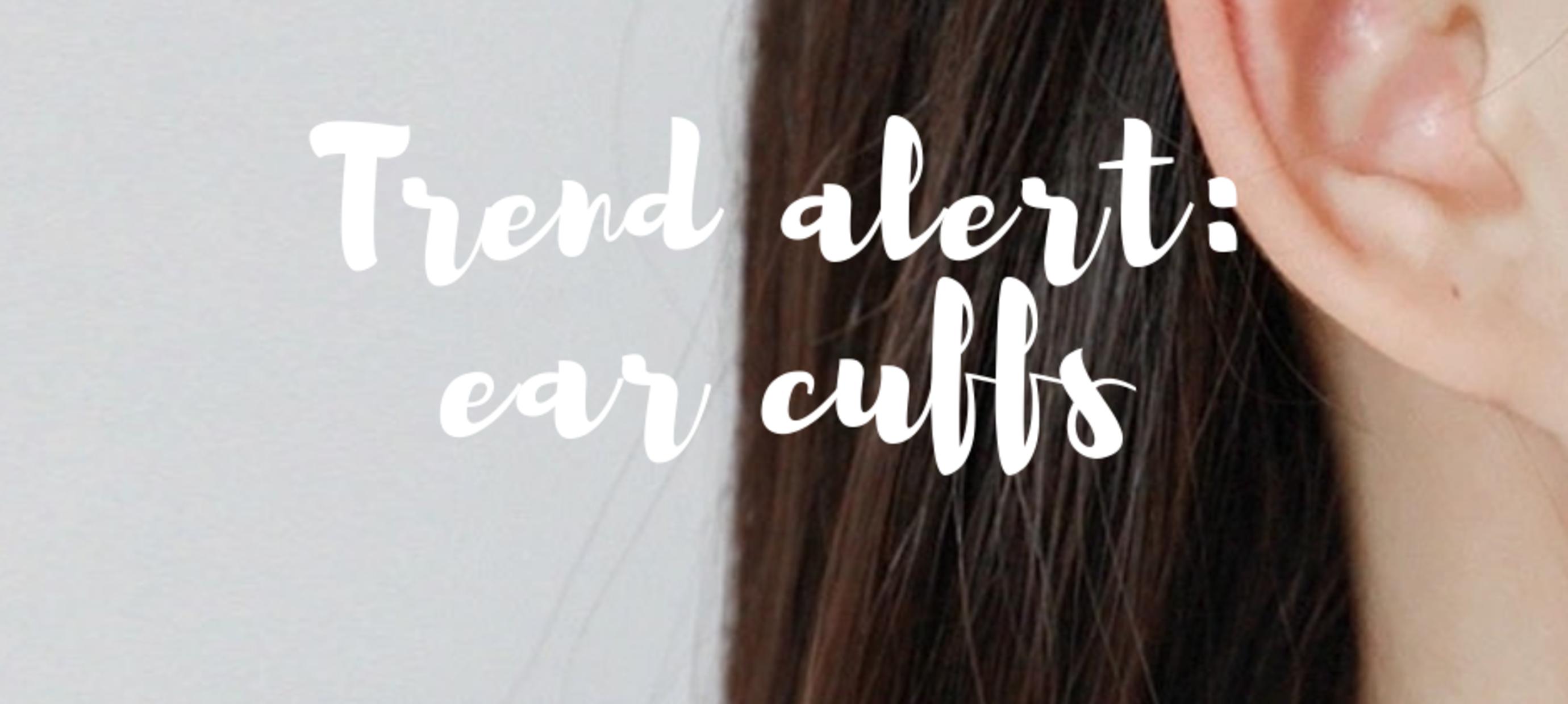 Trend alert: hippe ear cuffs